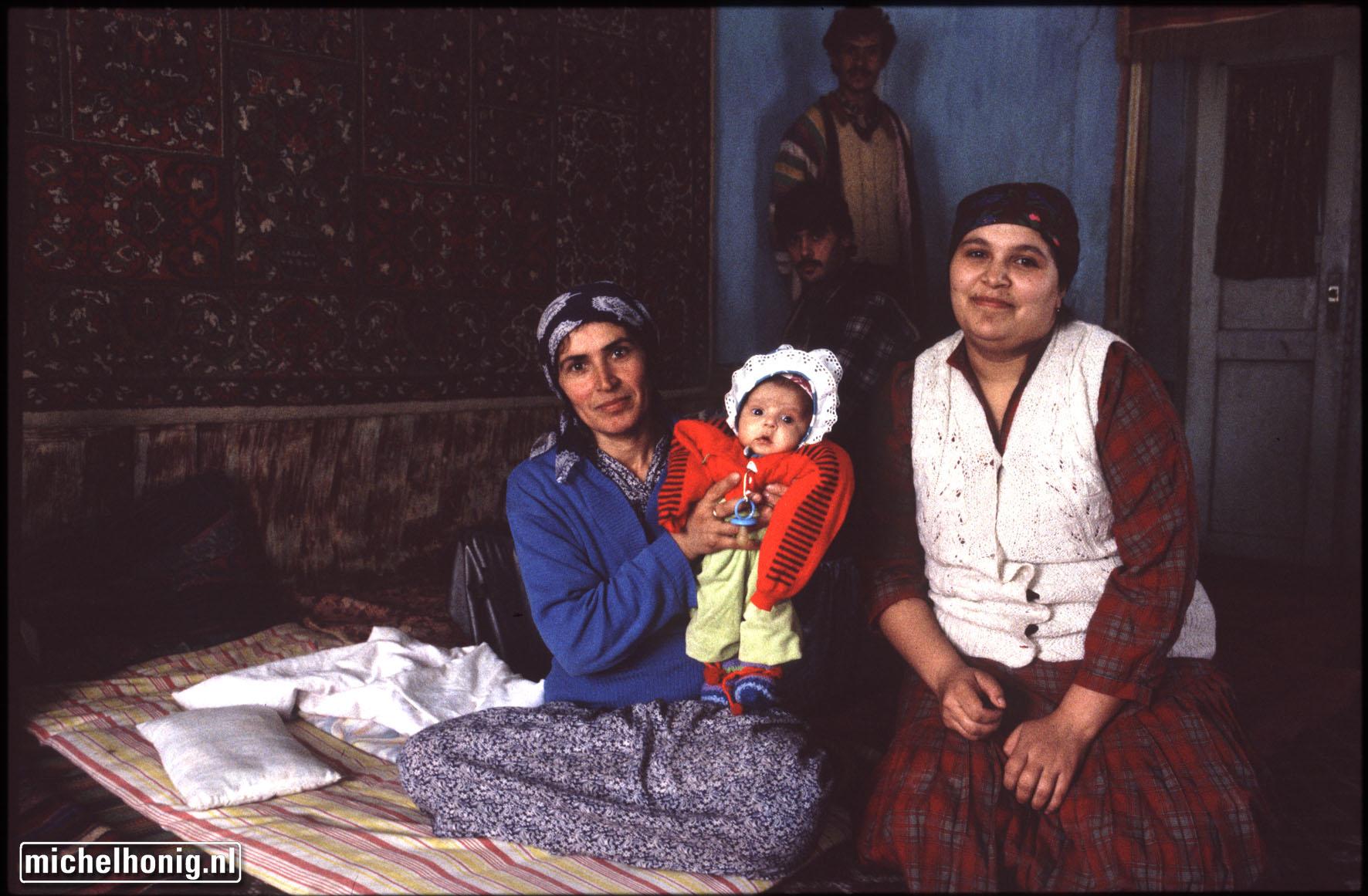 Tazjiek gezin in Samarkant